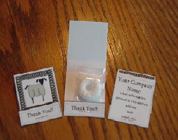 Matchbook mint party favors green check primitive sheep matchbook mint party thank you favors colourmoves