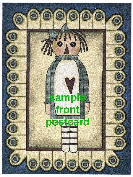 Primitive Postcards